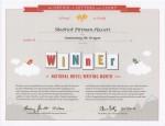NaNoWriMo 2010 Winner Certificate